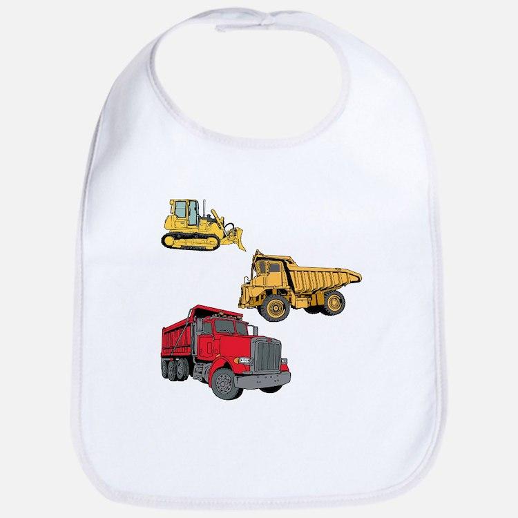 Construction Site Vehicles. Bib