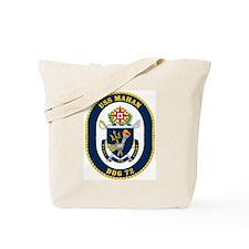 USS Mahan DDG 72 Tote Bag