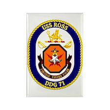 USS Ross DDG 71 Rectangle Magnet
