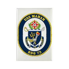 USS Mahan DDG 72 Rectangle Magnet