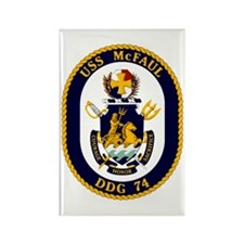 USS McFaul DDG 74 Rectangle Magnet
