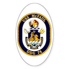 USS McFaul DDG 74 Decal