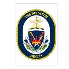 USS Decatur DDG 73 Postcards (Package of 8)
