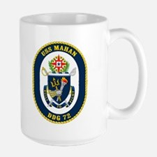 USS Mahan DDG 72 Large Mug