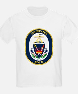 USS Decatur DDG 73 Kids T-Shirt