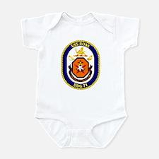 USS Ross DDG 71 Infant Creeper