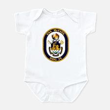 USS McFaul DDG 74 Infant Bodysuit