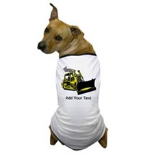 Site Vehicle and Text. Dog T-Shirt