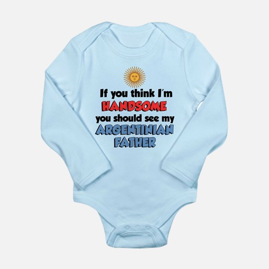 Handsome Argentinian Father Onesie Romper Suit