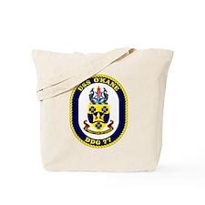 USS O'Kane DDG 77 Tote Bag