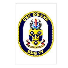 USS O'Kane DDG 77 Postcards (Package of 8)