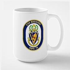 USS Higgins DDG 76 Mug