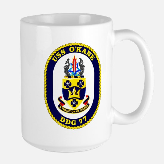 USS O'Kane DDG 77 Large Mug