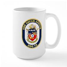 USS Oscar Austin DDG 79 Mug