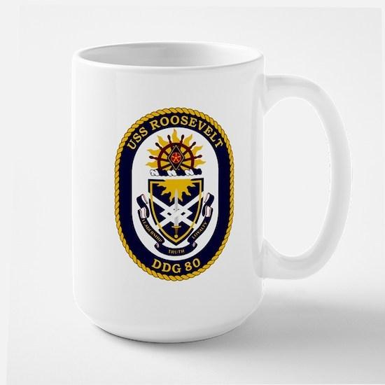 USS Roosevelt DDG 80 Large Mug