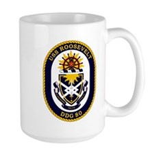 USS Roosevelt DDG 80 Mug