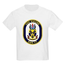 USS O'Kane DDG 77 Kids T-Shirt
