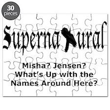 Supernatural French Mistake - Misha Jensen Puzzle