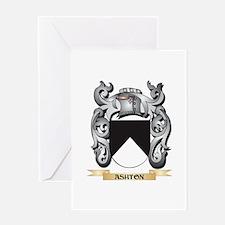 Ashton Family Crest - Ashton Coat o Greeting Cards