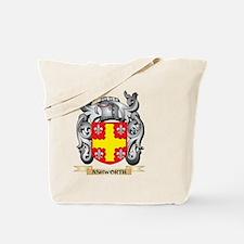 Ashworth Family Crest - Ashworth Coat of Tote Bag