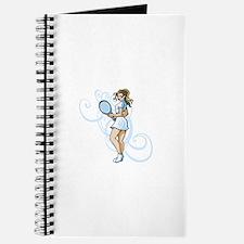Girl Tennis Player. Journal