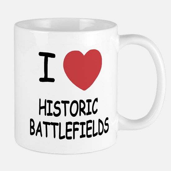 I heart historic battlefields Mug