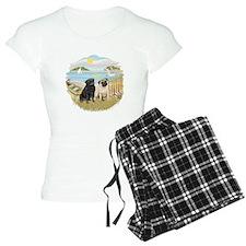RowBoat-2 Pugs (B+F) pajamas