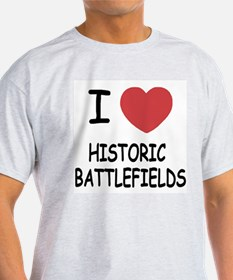 I heart historic battlefields T-Shirt