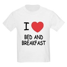 I heart bed and breakfast T-Shirt