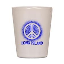 Long Island Peace Shot Glass