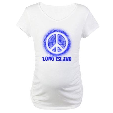 Long Island Peace Maternity T-Shirt