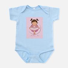 Personalized Ballerina Ballet Infant Bodysuit
