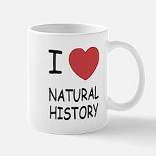 I heart natural history Mug