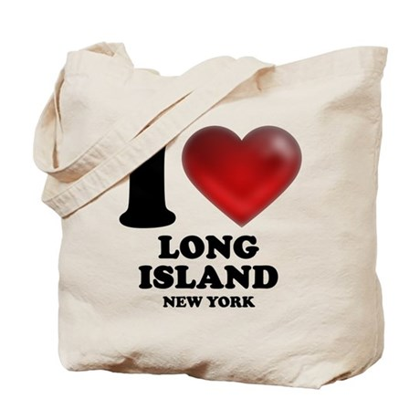 I Heart Long Island Tote Bag