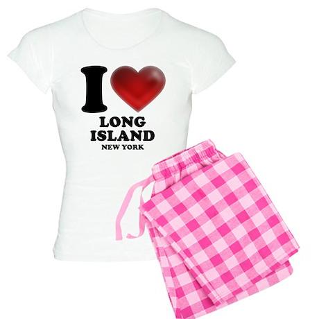 I Heart Long Island Women's Light Pajamas