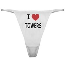 I heart towers Classic Thong