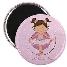 Personalized Ballerina Ballet Magnet