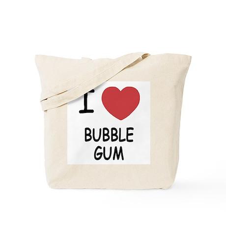I heart bubble gum Tote Bag