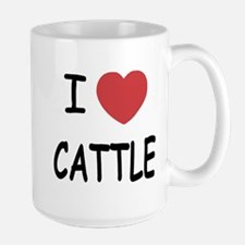 I heart cattle Mug