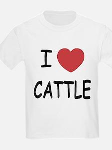 I heart cattle T-Shirt