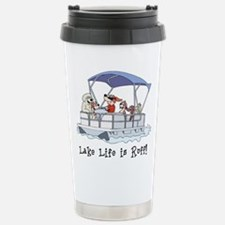 Pontoon Boat Stainless Steel Travel Mug