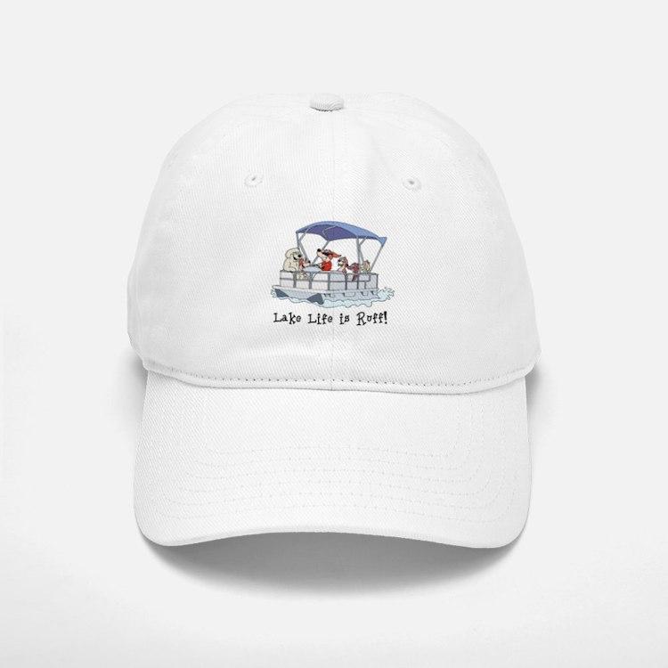 Pontoon Boat Baseball Baseball Cap