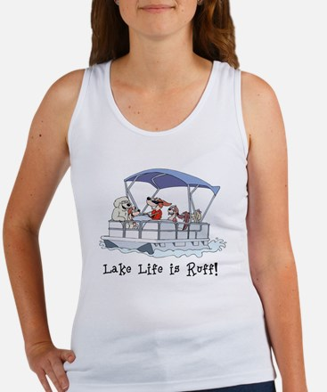 Pontoon Boat Women's Tank Top