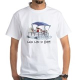 Lake Mens Classic White T-Shirts