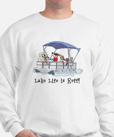 Pontoon Boat Sweatshirt