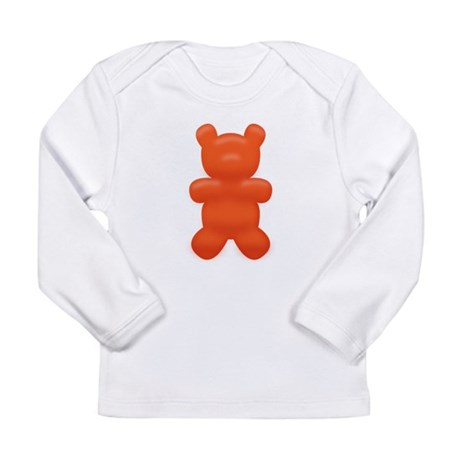 Red Gummi Bear Long Sleeve Infant T-Shirt
