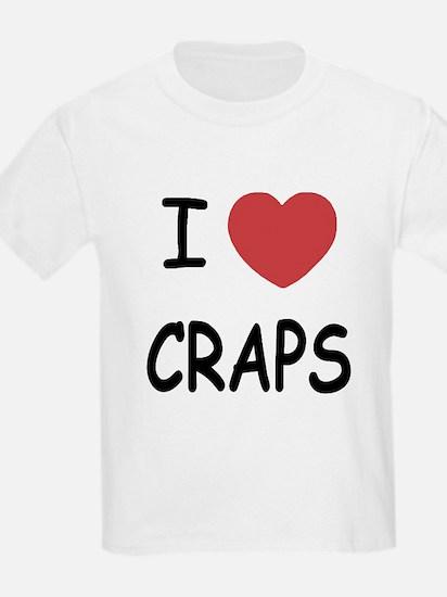 I heart craps T-Shirt