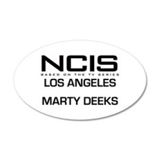 NCIS LA Marty Deeks 22x14 Oval Wall Peel