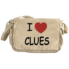 I heart clues Messenger Bag