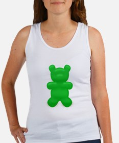 Green Gummi Bear Women's Tank Top